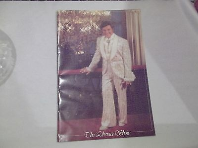 The Liberace Show Program Playbill Photo Book 1980's Ticket Stubs 1982 (Wl25)