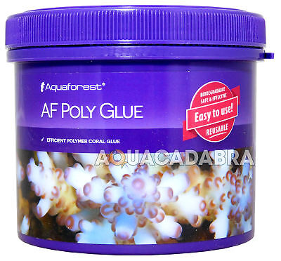 Aquaforest Af Poly Glue 600Ml Coral Polymer Adhesive Marine Aquarium Fish Tank