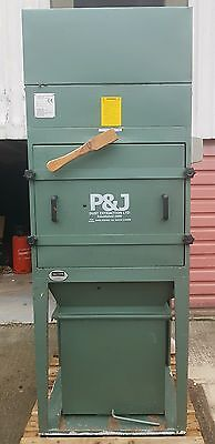 P&j  Dust Collector Extractor Manual Shaker