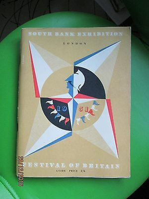 South Bank Exhibition Festival Of Britain 1951 Guide