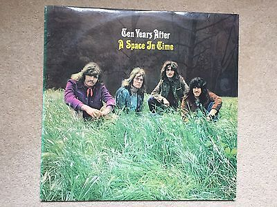 TEN YEARS AFTER / A Space in Time 1971 Vinyl LP CHRYSALIS..DUTCH ISSUE  EX / VG
