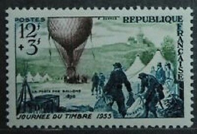 Timbre France N°1018 Neuf De 1955  Une Charniere