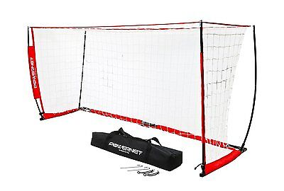 PowerNet 8x4 Portable Soccer Goal - Net w/ FREE Carry Bag + FREE Shipping!