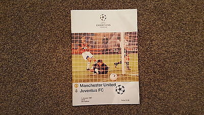 Manchester United V Juventus Oct 1997 Champions League