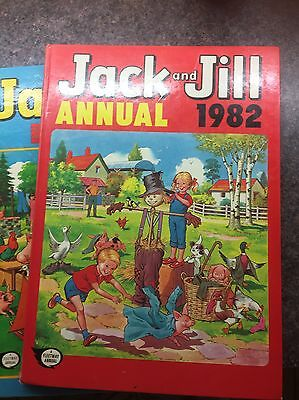 Jack And Jill Annuals - 1979 and 1982
