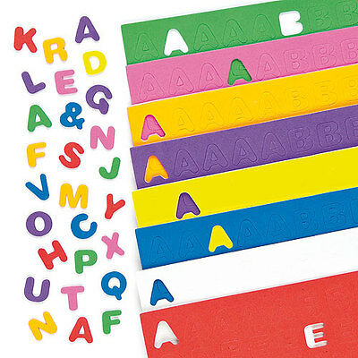 Children's Crafts Self Adhesive Foam Upper Case Letters (Pack Of 600)