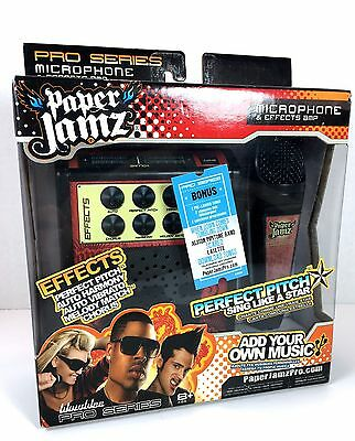 Paper Jamz Pro Series Microphone & Effect Amp Perfect Pitch With Songs Brand New