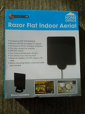 Connect-it home office Razor flat indoor aerial new in box