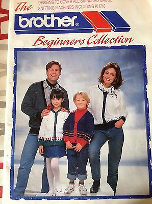 the brother beginners collection knitting machine book