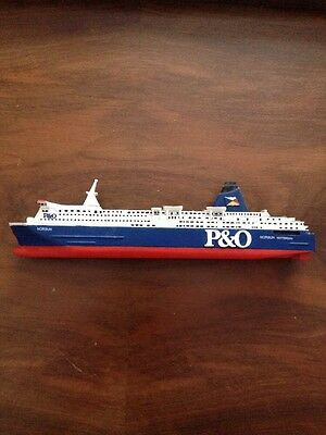 Vintage P&O Ferry Model Of The Norsun