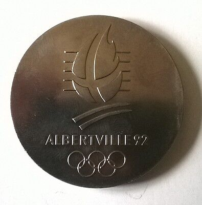 Albertville 1992 Olympia Medaille DDR