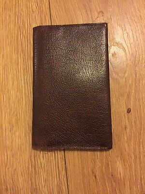 Old mens real leather wallet