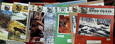 9 vintage issues of THE DEER TRAIL MAGAZINE-GOOD COND.