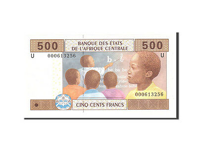 [#113638] Central African States, Cameroon, 500 Francs, 2002, KM:206U