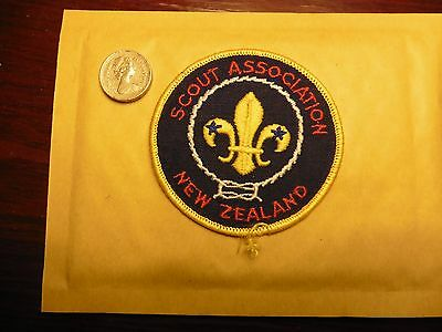 new zealand sew on patch/ badge scout association