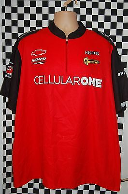 NEMCO Motorsports CELLULAR ONE Pit Shirt NASCAR Race Used SIZE XL