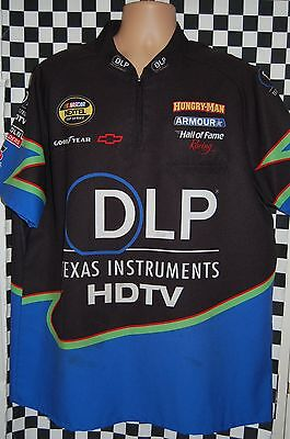 Terry Labonte #96 DLP/HDTV Pit Shirt NASCAR RACE USED CREW SHIRT SIZE LGE
