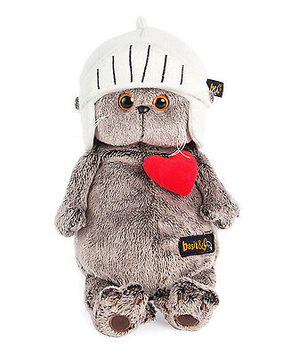 Plüschtier Katze Basik der Ritter Scottish Fold Cat Softtoy Stuffed Peluche 25cm