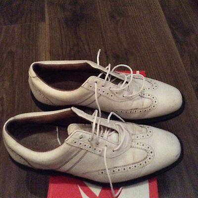 Mens Footjoy Icon Golf Shoes Size 8