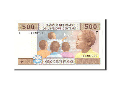 [#113709] Central African States, Congo, 500 Francs, 2002, KM:106T, UNC(65-70)