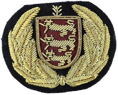 States Of Guernsey Airlines Cabin Crew Bullion Wire Badge