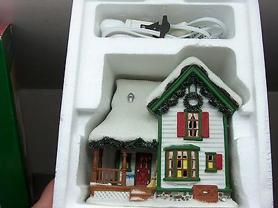 Mint In Box 2004 Dept 56 Simple Traditions Timbers Farm House Pine Isles 56.0614