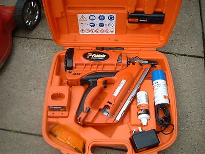 Paslode Impulse IM350+ PLUS Cordless First Fix Nail Gun with Case & Accessories