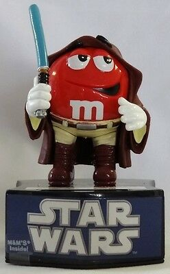 Star Wars Jedi OBI WAN KENOBI m&m Candy Bank Small Petite Collectible Figurine