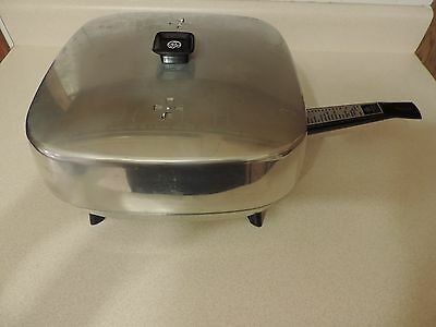 Vintage General Electric High Dome Electric Skillet Model C116 Beautiful & Works