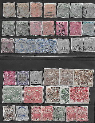 Bermuda. QV. Range mm (6), used (16) with shades etc, plus later (40)