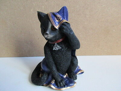 "New  ""jinx"" Cat Mystic Witches  Cats Of The Coven Boxed  Nemesis Now"