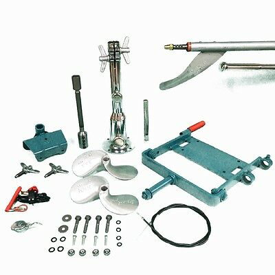 MUD-SKIPPER LONG TAIL MOTOR DRIVE KIT - 16 -23hp HONDA GX390 etc- FREE SHIPPING!