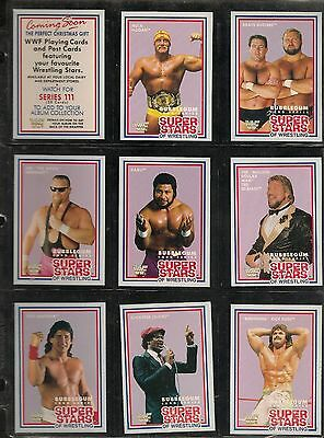 Rare Wwf Wwe Set Of 20, Market Scene Limited Series 2 Trading Cards