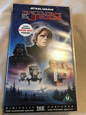 STAR WARS episode6 original video  The return of the Jedi