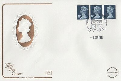 U230 Machin Horizontal Coil On An Unaddressed Cotswold Fdc.   Windsor Postmark.