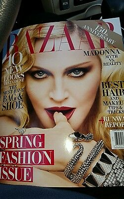 Madonna Harpers Bazaar 2017 January Issue