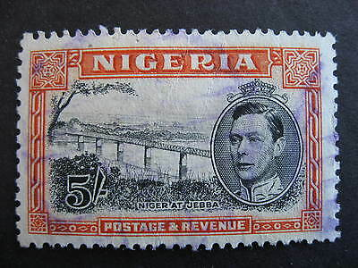 NIGERIA Sc 64c used, creased, still very presentable though, check it out!
