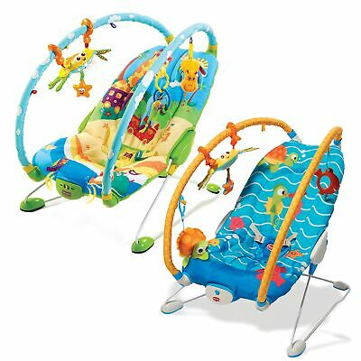 Tiny Love Gymini Baby Chair Bouncer / Rocker - From Birth To 6 Months (9kg)