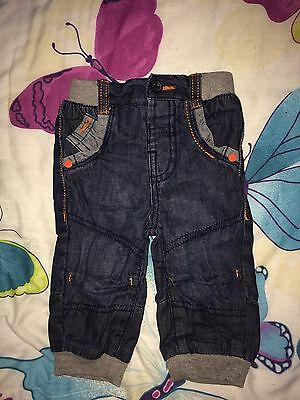 Baby Boys Jeans Size 0/3 3/6 Months