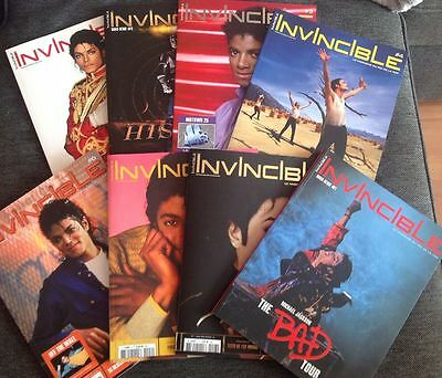 Michael Jackson French collection 8 Invincible Magazines