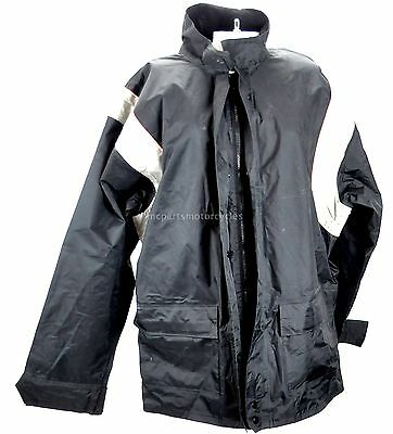 Harley Davidson Mens 2 Piece Rain Suit Fully Lined Jacket  & Bibs Size Medium