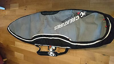 "Double surfboard bag to fit 6'7"" board"