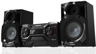 Panasonic Scakx200Ek Impianto Stereo Mini Hi-Fi 400 Watt Mp3 Usb Rec & Play