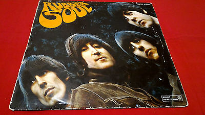 """THE BEATLES (33 Giri ITALY)  PMCQ 31509    """"RUBBER  SOUL"""""""