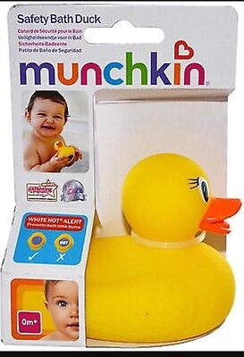 Munchkin Baby Safety Bath Duck Floating Bath Thermometer & Toy Brand New