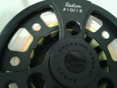 new salmon fly reel with new line