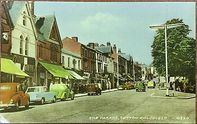 Valentine's postcard - The Parade, Sutton Coldfield