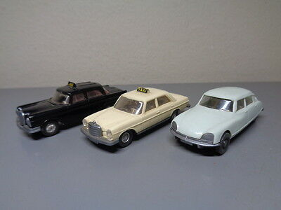 Wiking Germany Vintage Car Collection Ho Scale Very Good Condition