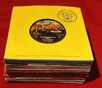 "JobLot A74, Forty 1970s, 7""45rpm Vinyl Records See Description For Full List"
