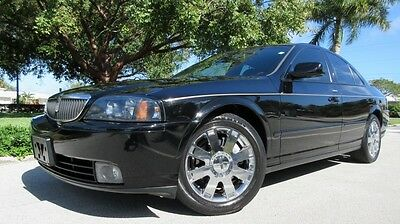 2004 Lincoln LS 4D 2004 LINCOLN LS V8, CD/NAV/SAT, SUNROOF, CLIMATE LEATHER, 1 OWNER FL CAR, WOW!!